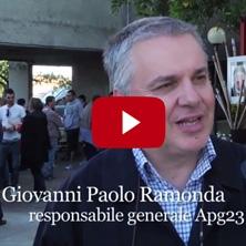 <p>Intervista a Giovanni Ramonda, Responsabile Generale di APG23</p>